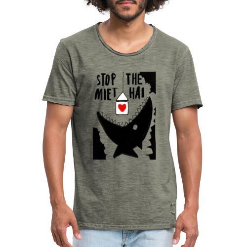 haifisch 02 - Männer Vintage T-Shirt