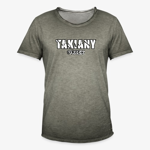Takiany's Tshirt - Mannen Vintage T-shirt