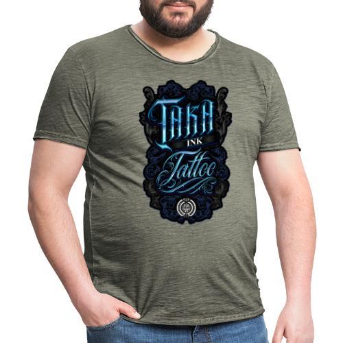 Taka Ink Tattoo - T-shirt vintage Homme