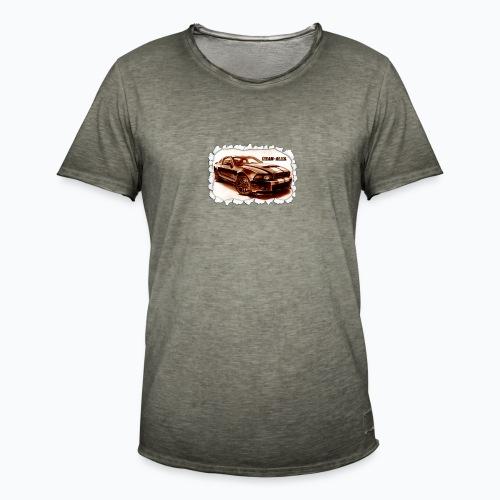 voiture - T-shirt vintage Homme