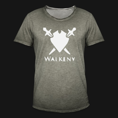 Walkeny Schwert Logo! - Männer Vintage T-Shirt