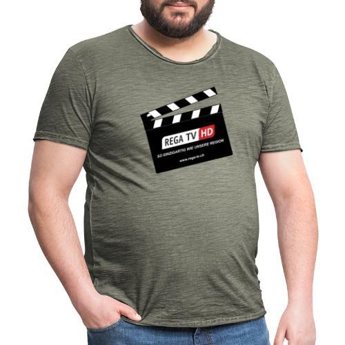 REGA-TV: Klappe - Männer Vintage T-Shirt