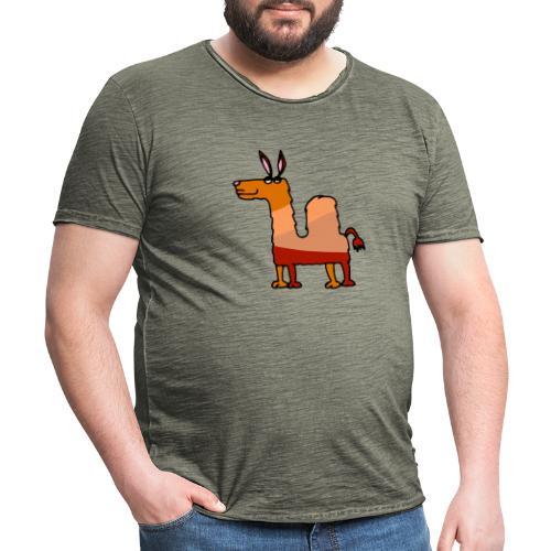 Tod le dromadaire - T-shirt vintage Homme