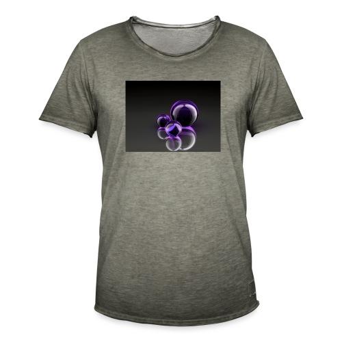 Purple Balls - Männer Vintage T-Shirt