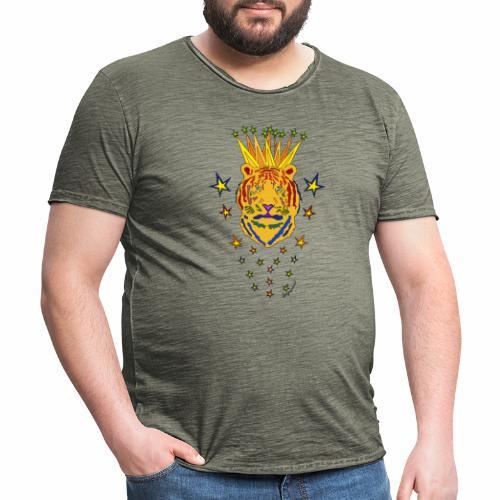 Star Tiger - T-shirt vintage Homme