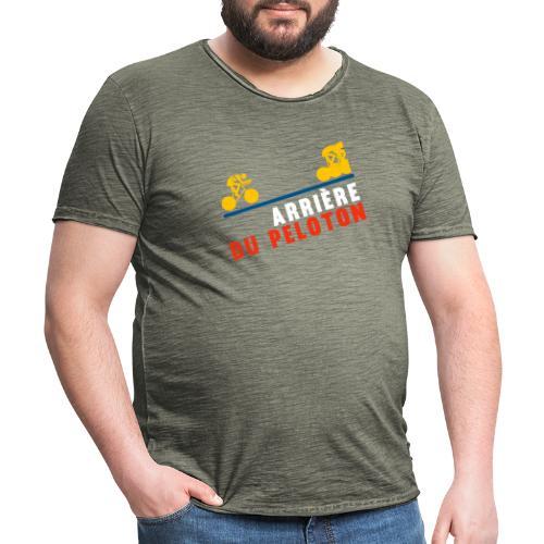 Arriere du peloton - Camiseta vintage hombre