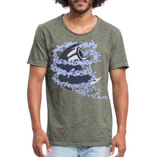 Tourbillon Raie Manta - T-shirt vintage Homme