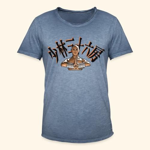 Shaolin Warrior Monk - Herre vintage T-shirt