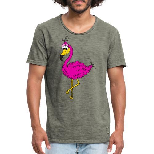 Flauschimingo - Männer Vintage T-Shirt