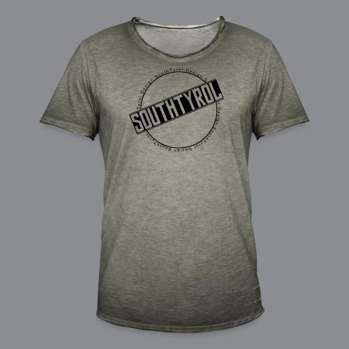 SouthTyrol Kreisform - Männer Vintage T-Shirt