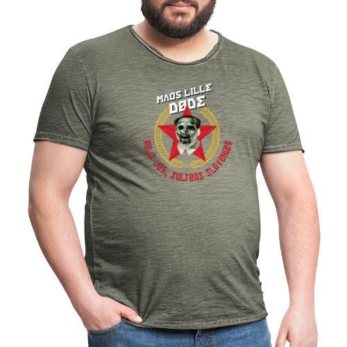 Maos lille døde - Herre vintage T-shirt