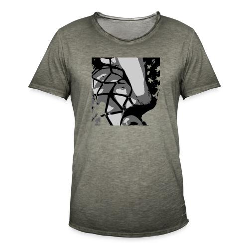 PopArt - Männer Vintage T-Shirt