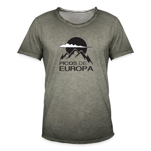 Picos de Europa - Camiseta vintage hombre