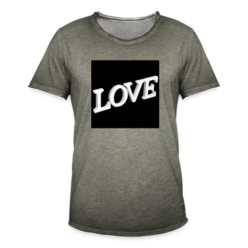 Love Me - T-shirt vintage Homme