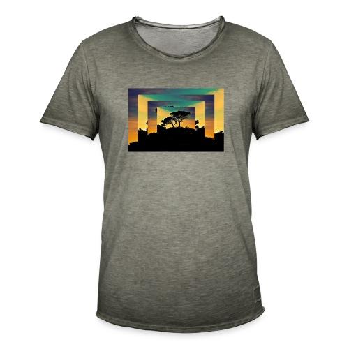 Natur Africa - Männer Vintage T-Shirt
