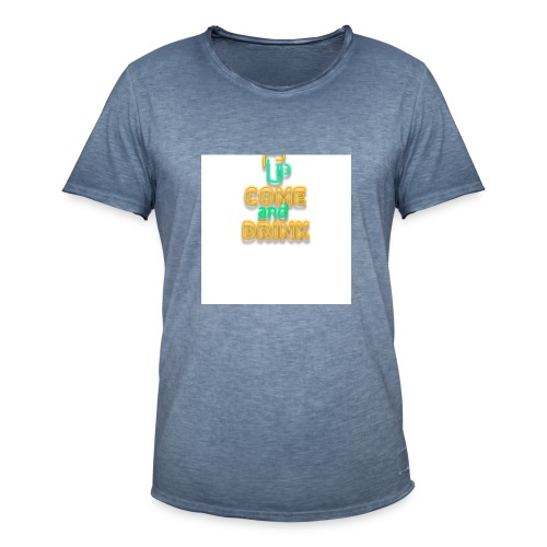 come and drink - Men's Vintage T-Shirt