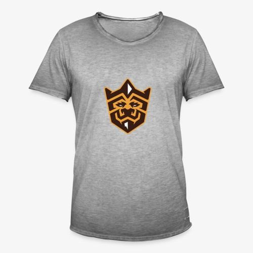 3D Lion Colour - Men's Vintage T-Shirt