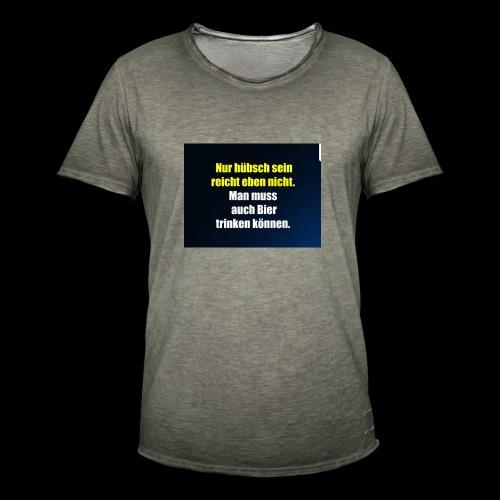 Bierlovers - Männer Vintage T-Shirt