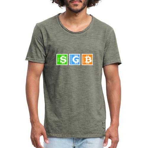 Generación Bitcoin - Camiseta vintage hombre