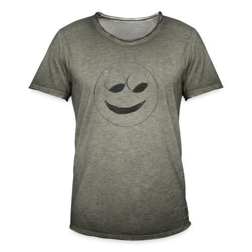 Smiley - Männer Vintage T-Shirt