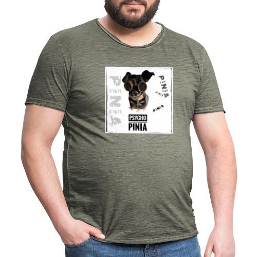 Psycho Pinia - Männer Vintage T-Shirt