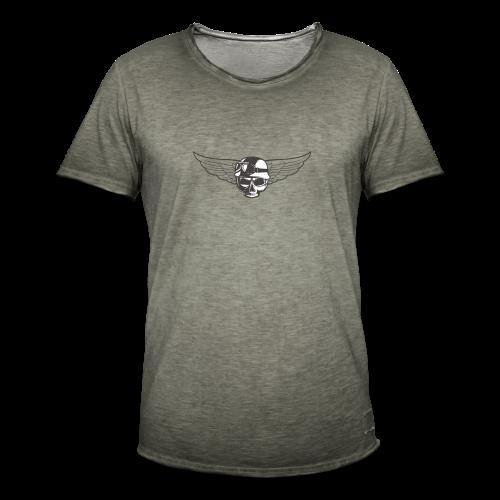Biker skull - Men's Vintage T-Shirt