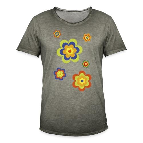 limited edition 3a flower power - Männer Vintage T-Shirt