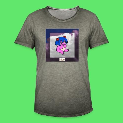 le nice girl - Men's Vintage T-Shirt