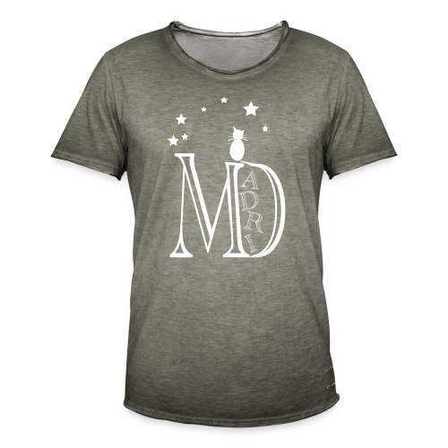 MadriG - Camiseta vintage hombre