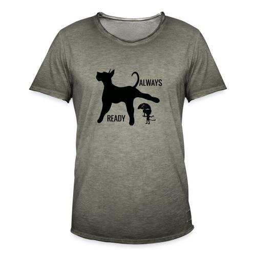 ALWAYS READY - Camiseta vintage hombre