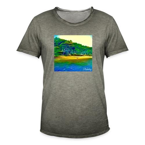Tropical beach - Maglietta vintage da uomo