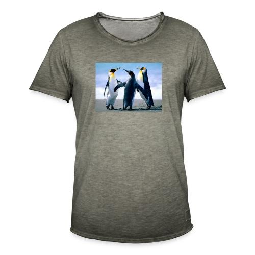 Penguins - T-shirt vintage Homme