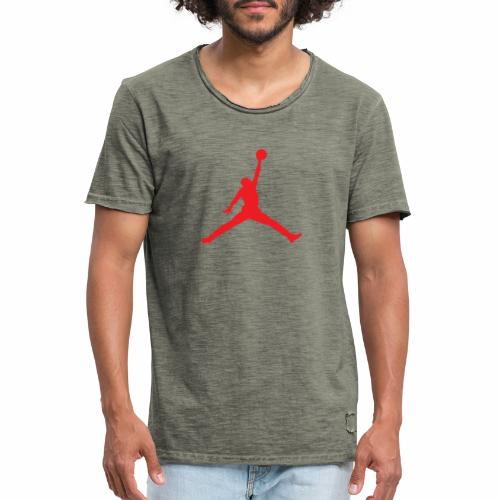 Méchant basket-ball - T-shirt vintage Homme