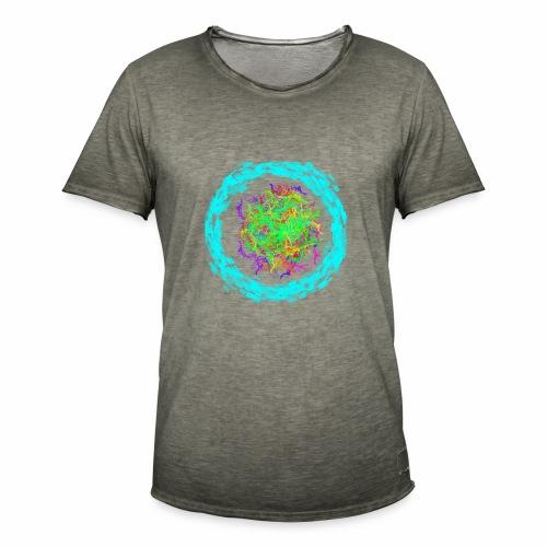 crazy - Männer Vintage T-Shirt