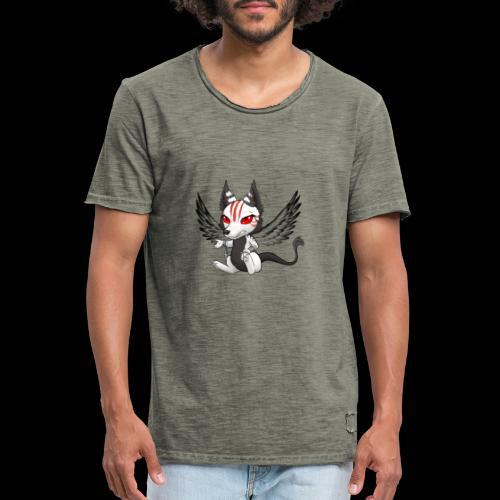 Démon Wolfire - T-shirt vintage Homme
