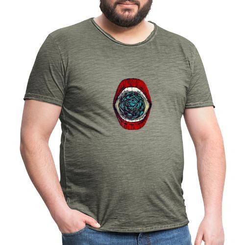GRAVITY ON EARTH - Männer Vintage T-Shirt