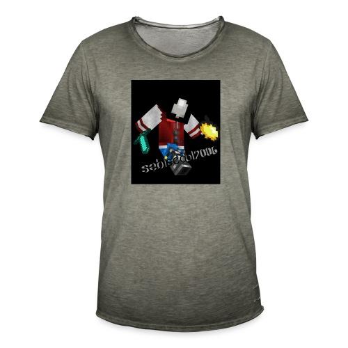 Sebastian yt - Herre vintage T-shirt