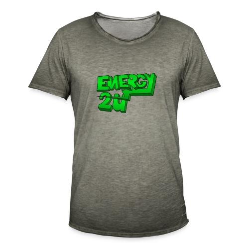 af geen background - Mannen Vintage T-shirt