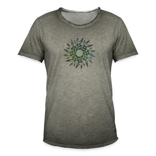 Tribale - Maglietta vintage da uomo