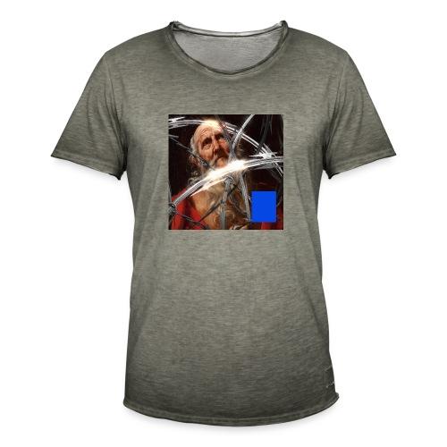 SaintPeter - Maglietta vintage da uomo