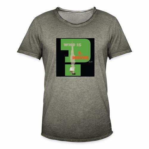 who is L.Mayne - Men's Vintage T-Shirt
