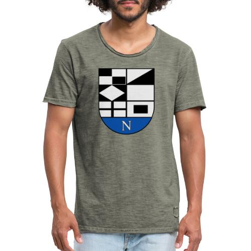 1200px Coat of arms of Neringa Lithuania svg - Männer Vintage T-Shirt