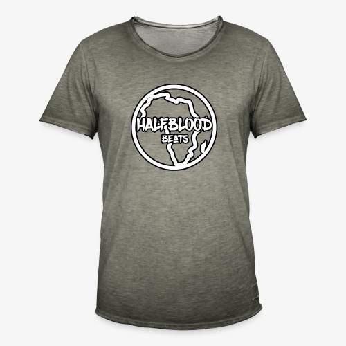 halfbloodAfrica - Mannen Vintage T-shirt