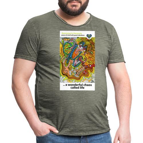 Wonderful chaos - Camiseta vintage hombre