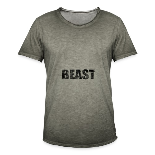 BEAST - Mannen Vintage T-shirt