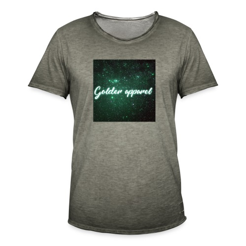 green with glow - Men's Vintage T-Shirt
