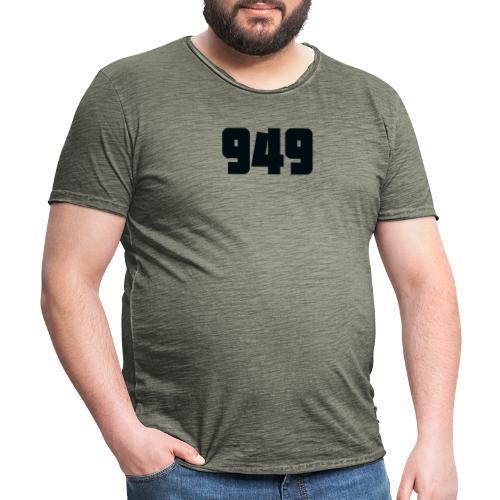949black - Männer Vintage T-Shirt