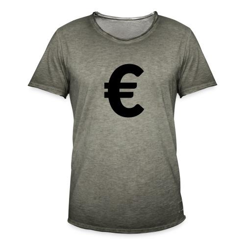EuroBlack - T-shirt vintage Homme