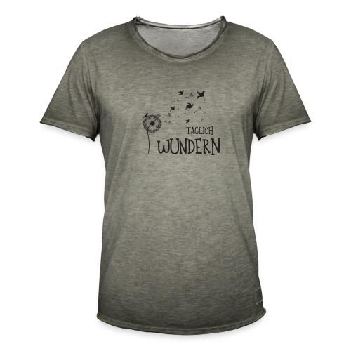 taeglichwundern - Männer Vintage T-Shirt