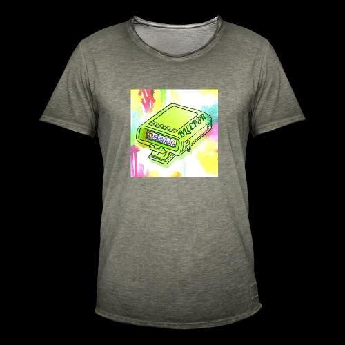 bleeper 3 - Männer Vintage T-Shirt
